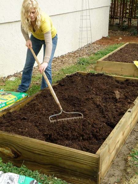 How to Build a Super Easy Raised Bed Our veggie garden was raised -- soooo much easier to weed, harvest, etc., and was (sorta) a deterrent to the doggies walking thru!