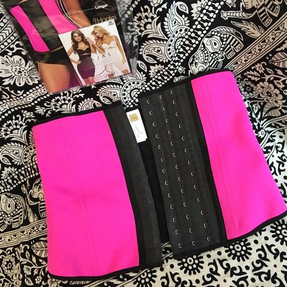 ✨authentic colombian corset waist trainer cincher✨ new in package size 40/xxl color: pink authentic from colombia   This Body Shaper is manufactured by Fajas Ann Chery, the leading shapewear producer in Colombia.  This Sport Waist Trainer increases thermal activity and maximizes the results from your gym sessions.  This Waist Training cincher comes with 3 hook and eye columns to close the shaper with the compression that you want.  ✳️no trades ann chery Tops
