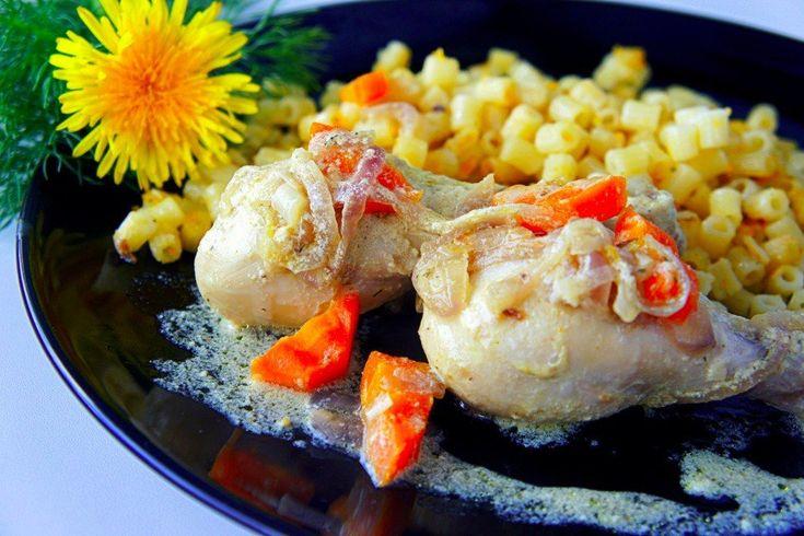 Recipe Stewed chicken drumsticks: http://wonderdump.com/recipe-stewed-chicken-drumsticks/