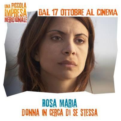 Rosa Maria: donna in cerca di se stessa! #WarnerComedy #CinemaItaliano #UnaPiccolaImpresaMeridionale #ClaudiaPotenza