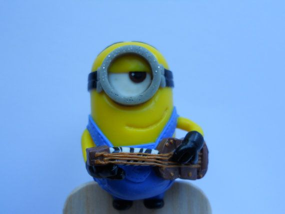 Bookmark minions friends with a guitar. by FavoriteBookmark