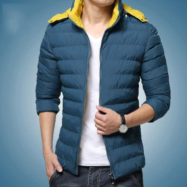 Winter Warm Cotton-padded Clothes Outerwear with Zipper Closure/79250 via AmaSell. Click on the image to see more!