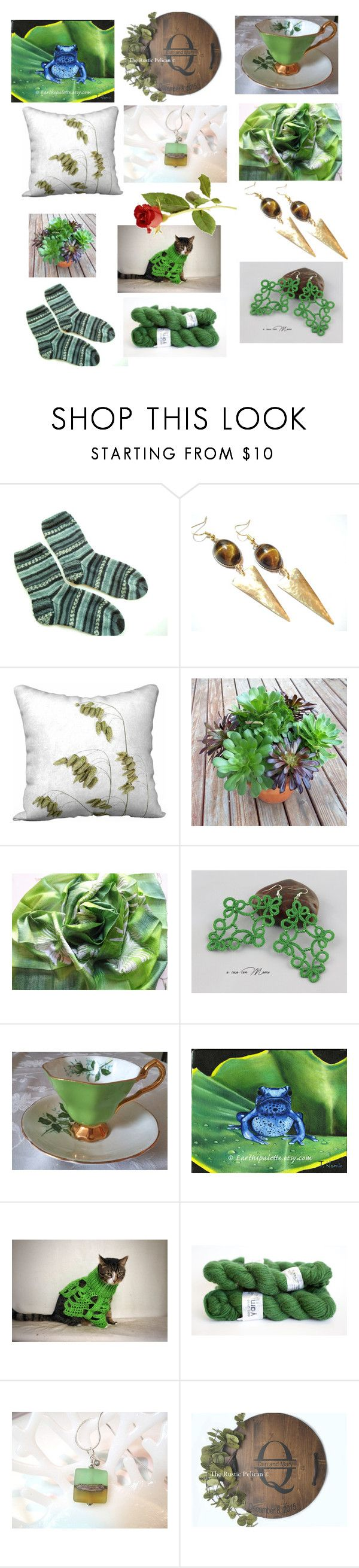 Spring Faves by anna-recycle on Polyvore featuring Royal Stafford, modern, rustic and vintage