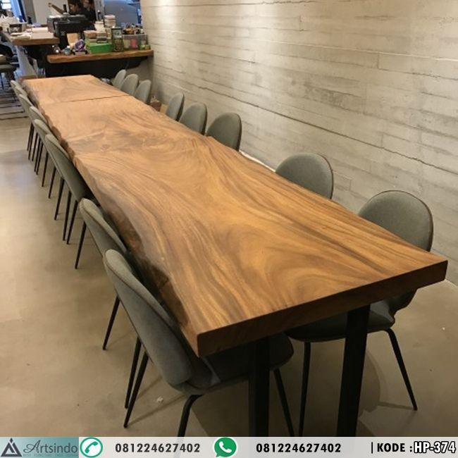 Model set meja cafe restoran kayu trembesi hp 374 by furniture jepara elegan set meja cafe restoran kayu trembesi hp 374 sebuah produk meja makan dengan