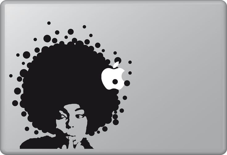 I Feel Love | Macbook sticker | #pasteit #sticker #stickers #macbook #apple #blackandwhite #art #drawing #custom #customize #diy #decoration #illustration #design  #decal #skin #cover #laptop #technology #pc #computer #music #groove #vintage #seventies #donna #donnasummer #disco #hair #afro #afrohair #woman #beauty #inspiration