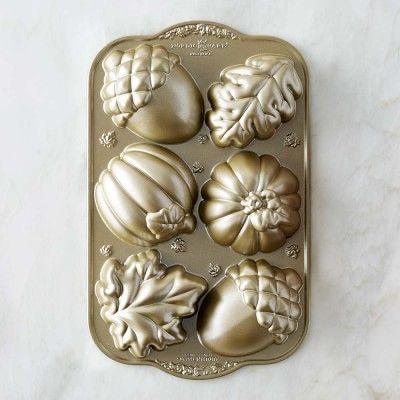 Nordic Ware Fall Cakelet Pan #williamssonoma