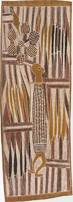 Wuyal the Honey Man, (circa 1960) by Mithinari Gurruwiwi