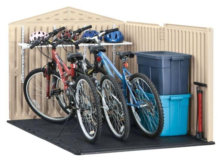 Plastic Bike Storage Sheds #plasticgardensheds