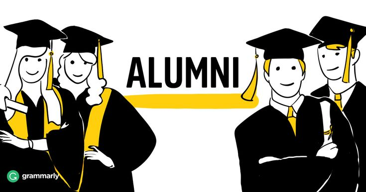 Alumni is the plural noun for a group of male graduates or male and female…