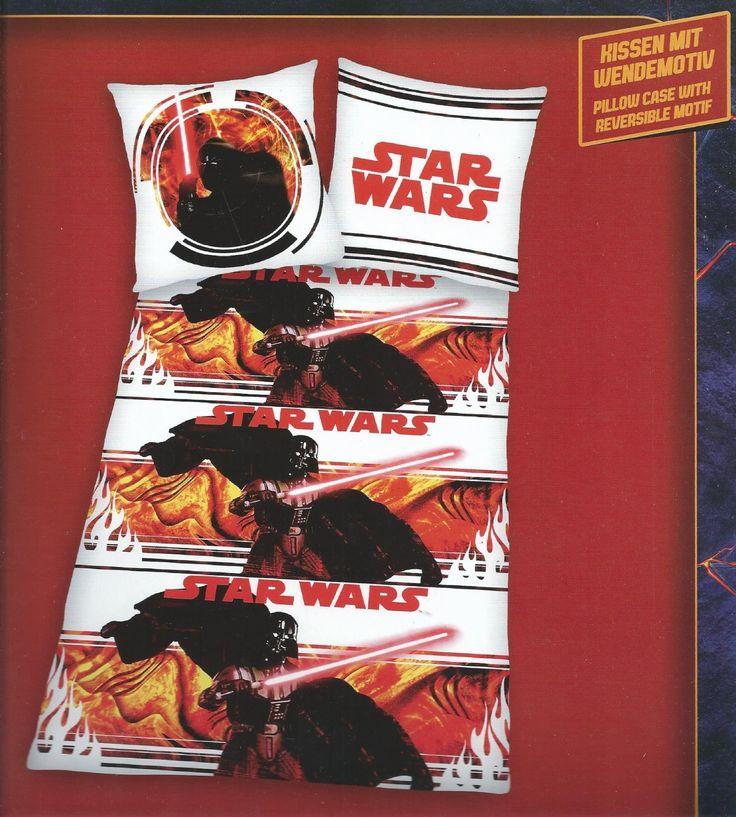 STAR WARS Darth Vader Bettwäsche Bettbezug Kissenbezug Clone Wars Bed Linen biancheria da letto: Amazon.de: Küche & Haushalt
