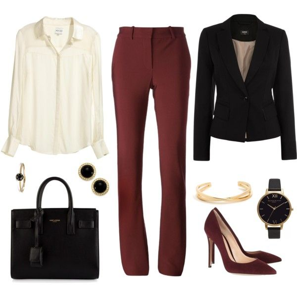 A fashion look from June 2015 featuring Reiss blouses, Oasis jackets and Lanvin pants. Browse and shop related looks.