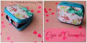 Caja de caramelos customizada #diy #reciclaje http://latrastiendadelimonyneda.blogspot.com.es/2014/06/caja-de-caramelos.html?m=1