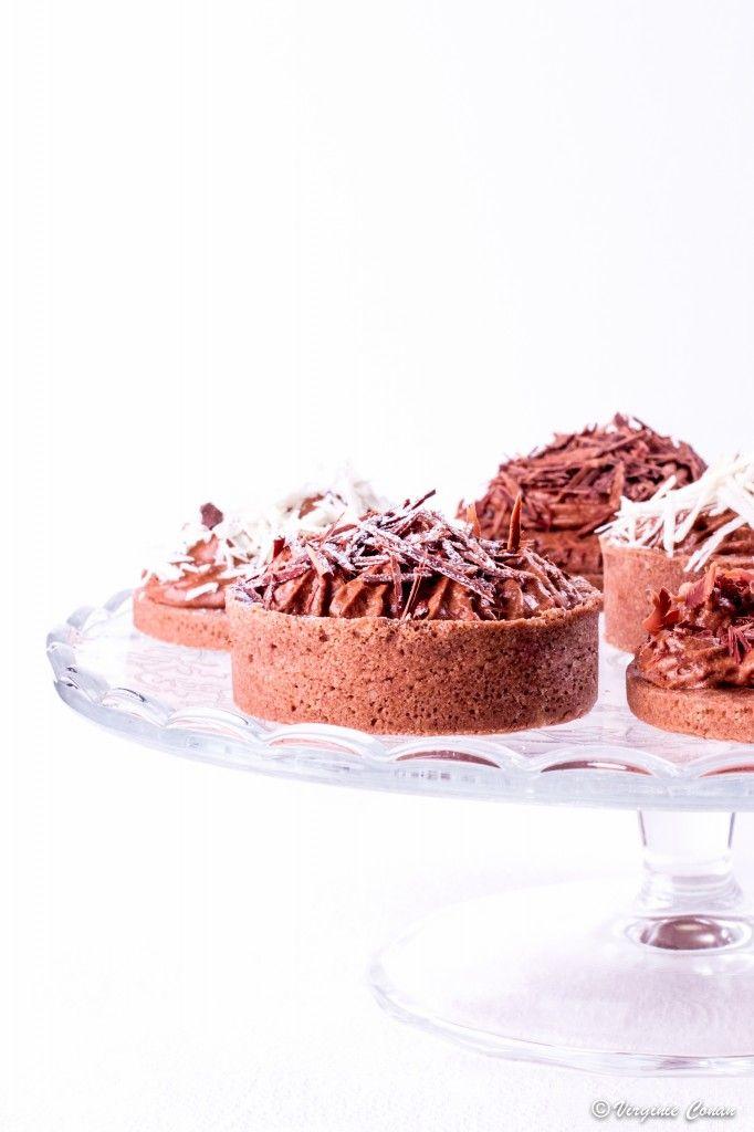 Tartelettes Mousse chocolat sans gluten sans lactose