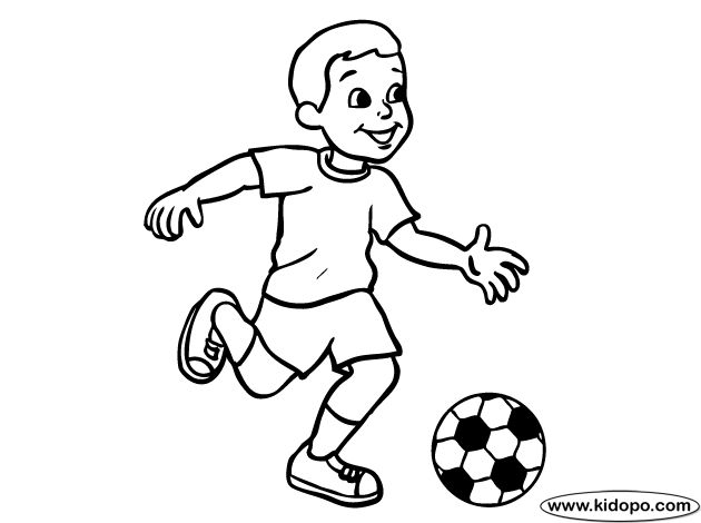 boy sports coloring pages - photo#28