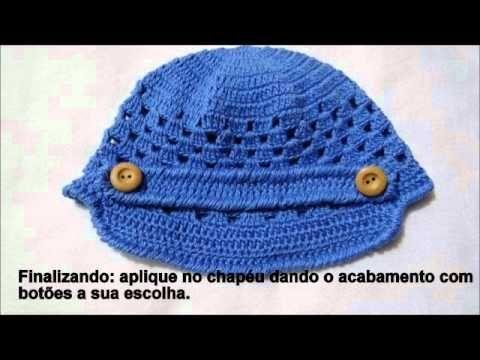 PAP Conjunto em crochê para Menino - YouTube