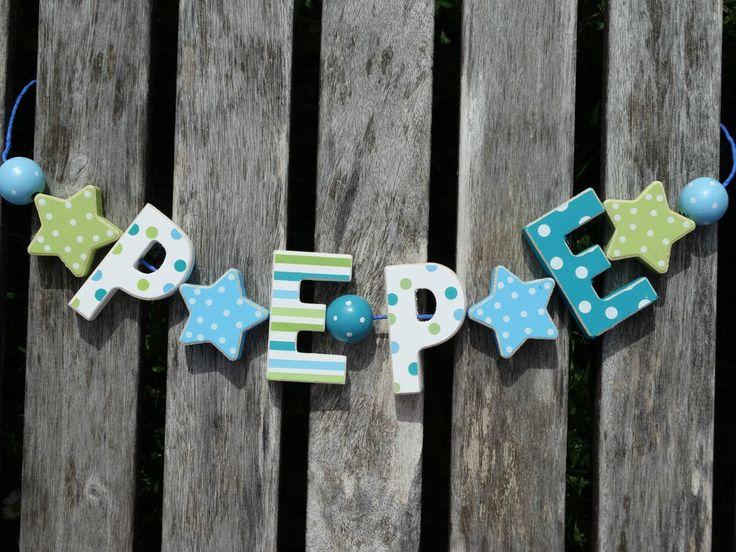 17 beste ideeën over holzbuchstaben kinderzimmer op pinterest