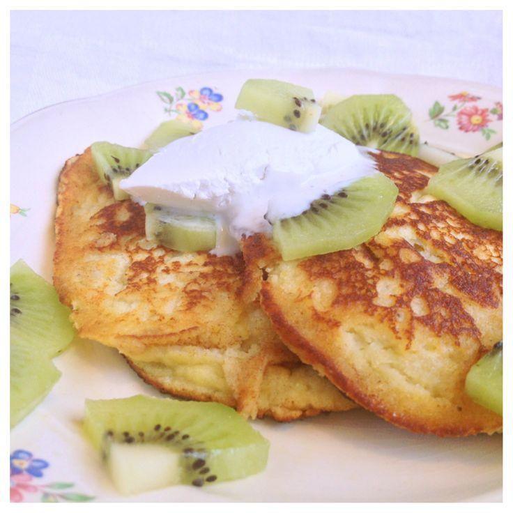 Bananpannkaka (glutenfri, mjölkfri, sockerfri)