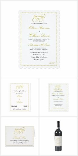 Wedding Stationery & Accessories Set 17