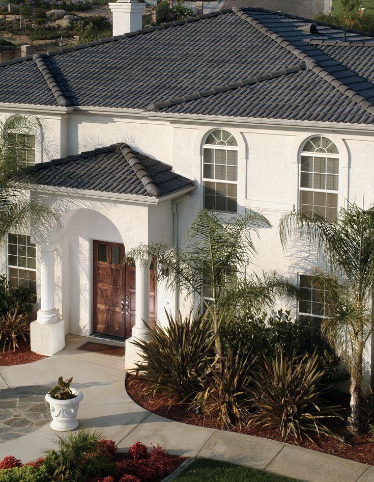 Best Eagle Design Corner Dark Gray Concrete Tile Roofs Are 400 x 300