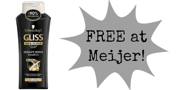 FREE Schwarzkopf Hair Products at Meijer!