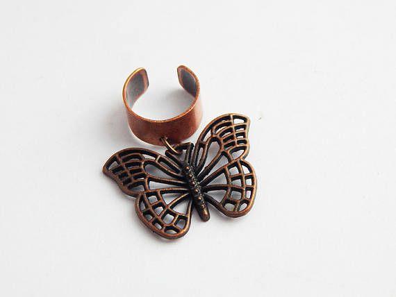Butterfly Loc Jewelry Dreadlocs Hair Accessories ...