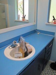 Painting Bedroom Bathroom Countertop in nice color