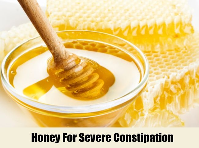 Honey For Severe Constipation