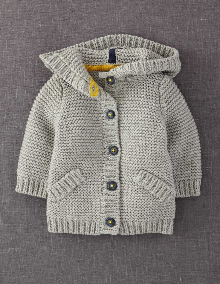 this chunky cardigan is perfect for a kid living in Canada :)