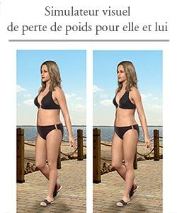 Simulateur virtuel de perte de poids pour elle et lui.  http://rienquedugratuit.ca/echantillon-gratuit/simulateur-virtuel-poids/