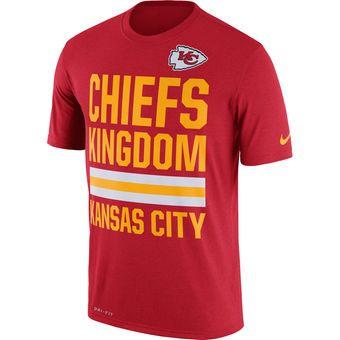 Kansas City Chiefs Nike Legend Local Fans Performance T-Shirt - Red