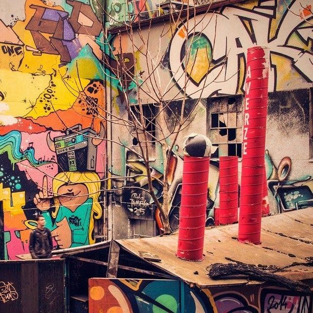 #streetart #funkychimney #urbex #colors