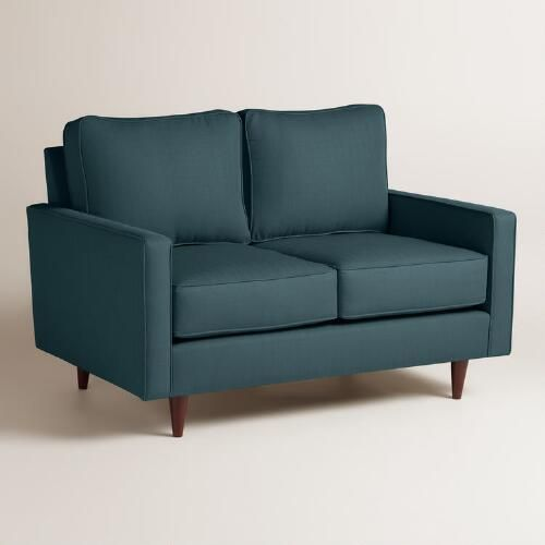 One of my favorite discoveries at WorldMarket.com: Textured Woven Nashton Upholstered Love Seat