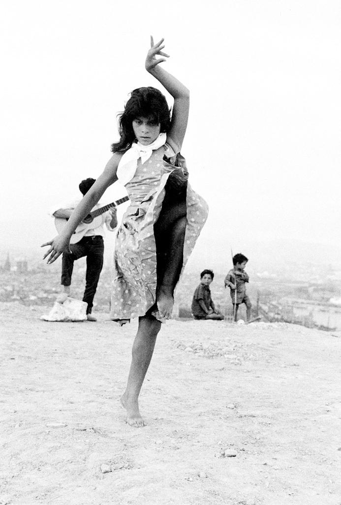 © Miserachs, Xavier, Antoñita La Singla, 1962 ca. 1962. Fotografia a les sals de plata. 30 x 24 cm, Còpia vintage. Collecció MACBA. Fundació MACBA. Donació Agrolimen