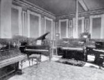 The music and piano department on the ground floor of D.I.C.