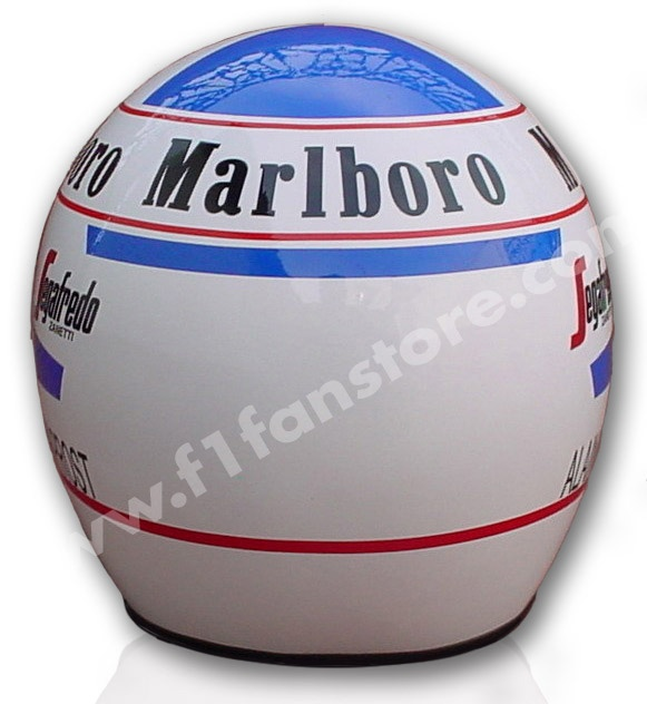 ALAIN PROST 1985 F1 REPLICA HELMET 1:1: Helmets Design