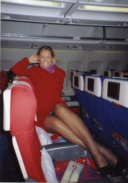 Air hostess rides oldman before cocksucking 1