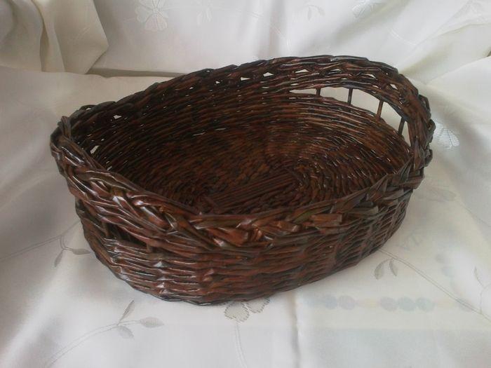 Мастер-класс по плетению корзинки из газетных трубочек (19) (700x525, 227Kb)