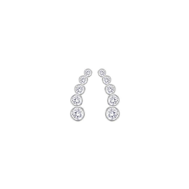 """Swarovski """"HAILEY"""" Earrings #Earrings #Crystals #SpringSummer2016 #JewelleryDesigner #Swarovski #Jewelry"""