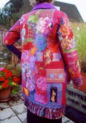 Lauren Shanley: Chiffon and silk layers