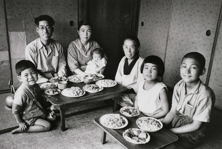 Family Portrait, at Prayers for the Wheat Harvest, 1946 by Koyo Kageyama