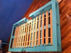 Bett aus Europaletten, einfache Variante - Palettenbett und Palettenmöbel : Palettenbett und Palettenmöbel
