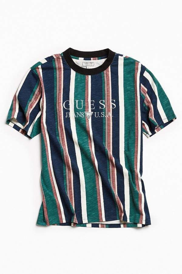 83d003561d GUESS  81 Sayer Stripe Tee
