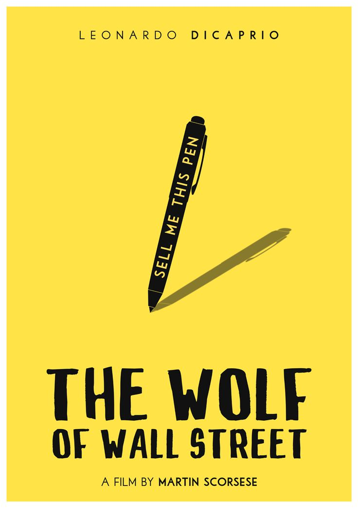 The Wolf of Wall Street by polardesignsAvailable to buy: Redbubble Shop | Etsy Shop | Society6 ShopMore film posters here.