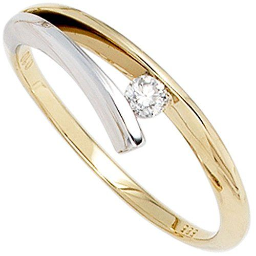 Dreambase Damen-Ring Gelbgold mit Weißgold kombiniert 14 ... https://www.amazon.de/dp/B01GQWZ096/?m=A37R2BYHN7XPNV