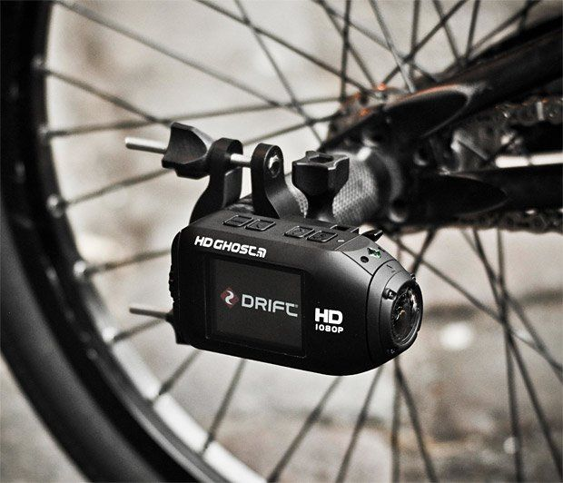 Drift HD Action Camera / The Drift HD Action Camera makes recording HD video look stylish and simple. It's an action camera that'll record video on its own while you're in the middle of an adventure. http://thegadgetflow.com/portfolio/drift-hd-action-camera/