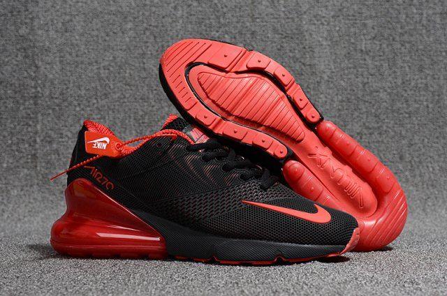 Nike Air Max Flair 270 KPU Black Red Men s Running Shoes en 2019 ... 4b7e0533e
