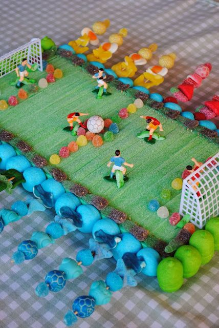 CANDY~ SOCCER CANDY CAKE BY LOS DETALLES DE BEA