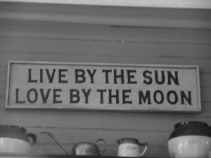 by the sun love by the moon