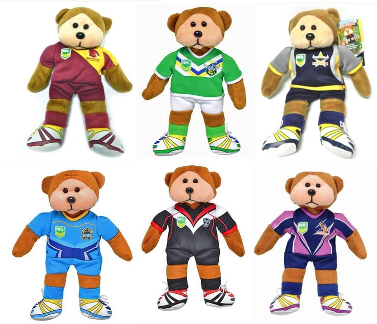NRL Beanie kids  some of these little guys are rare than hens teeth!