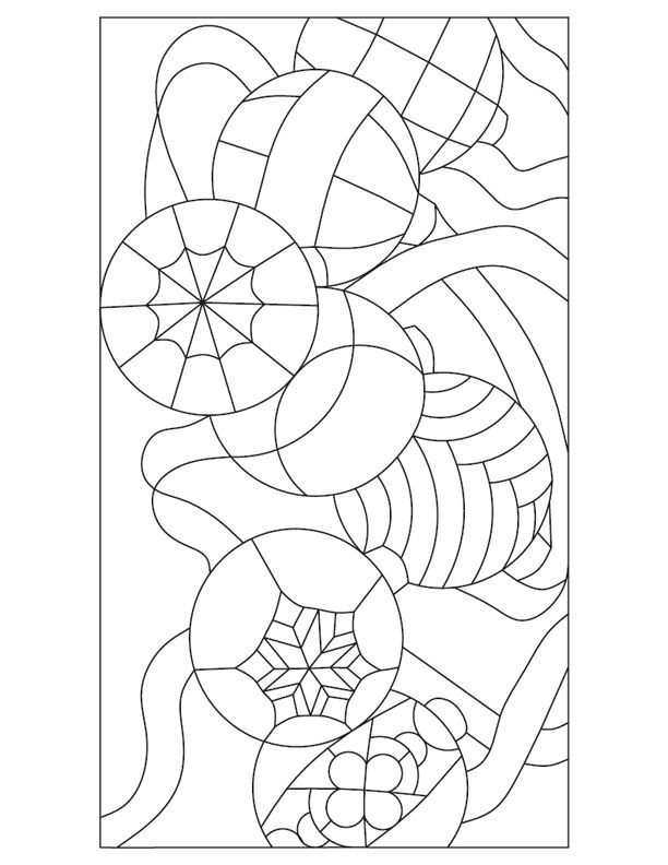 357 best stained glass patterns images on pinterest for Christmas stained glass window templates